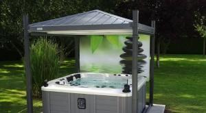 Choisir un abri spa simple et au meilleur prix for Abri spa exterieur